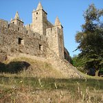 castelo visto pela parte de fora