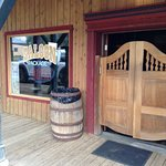 Bar/Saloon area entrance