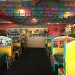 Decorated Booths at Jose's Cantina