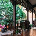 Balcon de la guesthouse
