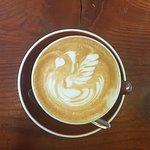 Latte Art at Smoothbean!