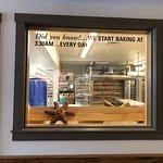 Window to admire Baking