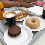 Macron, Eclair, Coffee ....