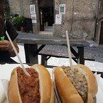 Foto de la cirioletta ignorante italian street food