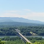 View of Rip Van Winkle Bridge from Olana