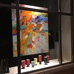Sharon Barr-painting and Steve Bogue - ceramics