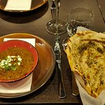 North Indian Daal Makhani with Methi Paratha