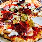 La fameuse pizza composée par moi