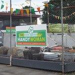 Visit to the HandyWoman's yard