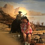 Lobby Display of Lewis & Clark Expedition