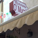 Tiny restaurant with delicious meals.....O'Murzill on Via Accademia in Sorrento