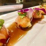Lobster bomb sushi bar appetizer