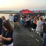 Great food on the pier.