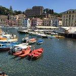 View from Ristorante Bagni Delfino in Marina Grande 🐬🌞🐬