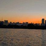 Lago - nascer do sol