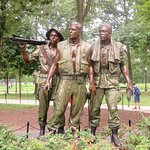 The Three Soldiers Sculpture