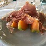 Prosciutto e melone deliziosi