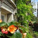 Front of the Inn in Waddington