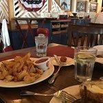 Fried shrimp and filet