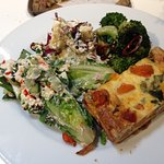 Gem, Broccoli, Cauliflower and Quiche