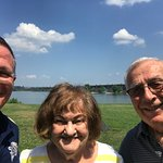 Wrightsville Bridge with my parents