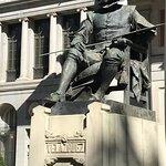 Velazquez statue in front of Prado