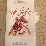 Foto di Bel Canto Restaurant