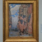 "Childe Hassam ""The Fourth of July', 1916"
