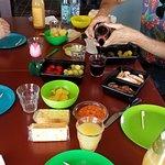 Mark's yummy picnic!
