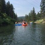 Floating down the river!
