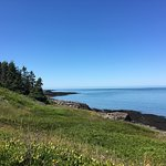 beautiful view of Bay of Fundy
