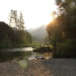 The Merced River near our campsite