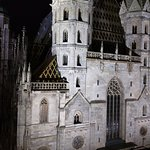 St Stephen's Cathedral at night