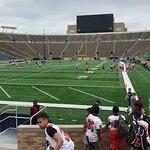 The Notre Dame stadium