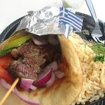 Gyros and Rice, The Mad Greek, Baker, Ca