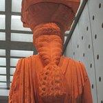 One of the majestic Korai, Acropolis Museum