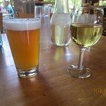 Roaring Brook IPA + Hess chardonnay