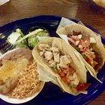 Taco combination plate