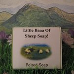 Our handmade felted soap makes a unique gift to evoke memories of Ireland
