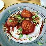 Braised beef croquettes