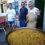 An excellent paella made by experienced hands