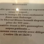 Photo of Auberge Le Cheval Blanc