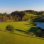 A round of golf at Golf Torrequebrada in the afternoon offers lovely shades