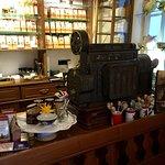 Teekontor mit Kasse