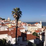 View from Alfama's look out point
