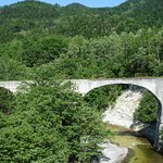 Bild från Previosuly National Railway Shihoro Line 5th Otofuke River Bridge