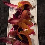 Beet and pickled berries - excellent