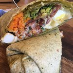The Breakfast Burrito from Lola's is a dish to remember and want over and over again