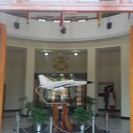 Habibullah Hall entrance hall