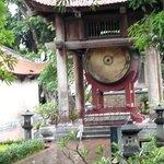 Huge drum of Temple of Literature Hanoi, Vietnam